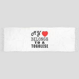 I Love Togolese Scarf