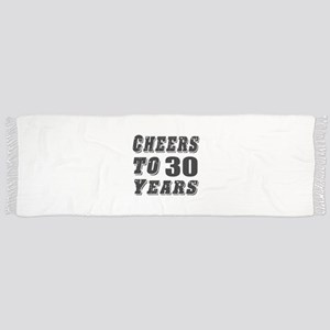 Cheers To 30 Scarf