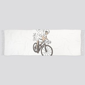 Cyclocross Rider Riding Dirty Scarf