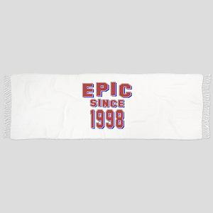 Epic Since 1998 Birthday Designs Scarf