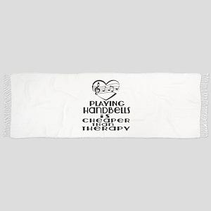 Handbells Is Cheaper Than Therapy Tassel Scarf