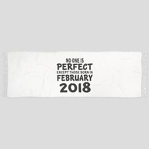 February 2018 Birthday Designs Tassel Scarf