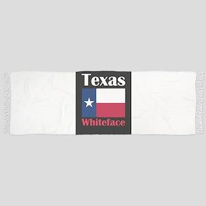 Whiteface TX Tassel Scarf