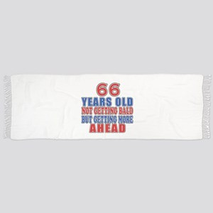 66 Getting More Ahead Birthday Scarf