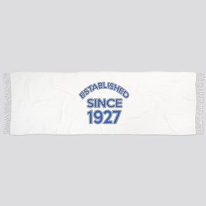 Established Since 1927 Scarf