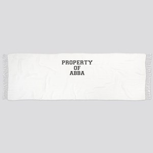 Property of ABBA Scarf