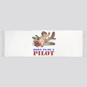 BORN TO BE A PILOT Scarf