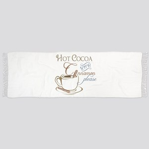 Cocoa with Cinnamon Scarf