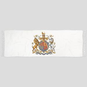 British Royal Coat of Arms Scarf