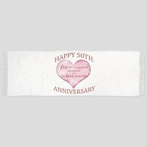50th. Anniversary Scarf