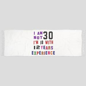 30 Birthday Designs Scarf