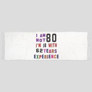 80 Birthday Designs Scarf