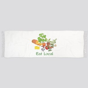 Eat Local Tassel Scarf
