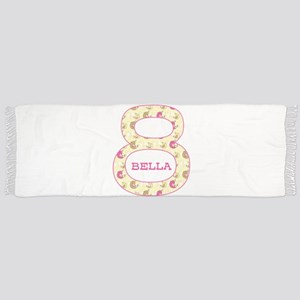 8th Birthday Personalized Scarf