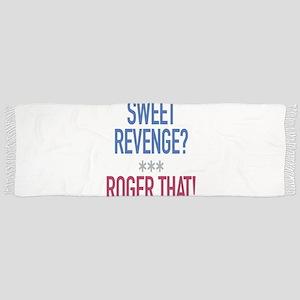 Roger That! Tassle Scarf