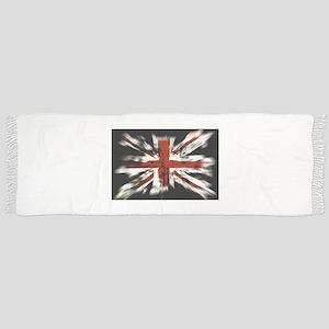 UK Flag England Tassel Scarf