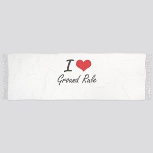 I love Ground Rule Scarf