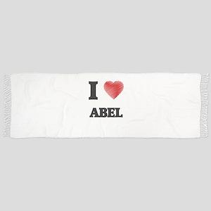 I love Abel Scarf