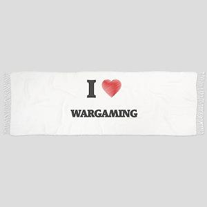 I Love Wargaming Scarf