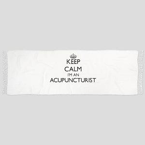 Keep calm I'm an Acupuncturist Scarf