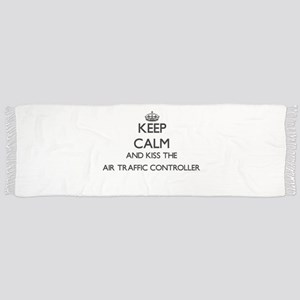 Keep calm and kiss the Air Traffic Controlle Scarf