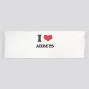 I Love Abbeys Scarf