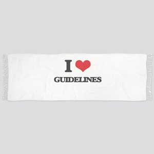I Love Guidelines Scarf