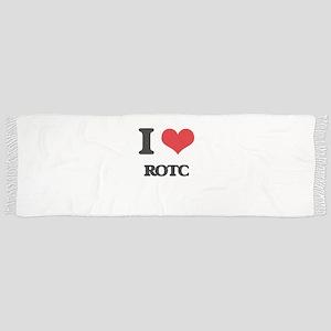 I Love Rotc Scarf