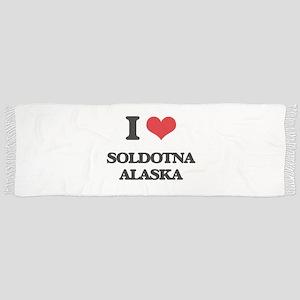 I love Soldotna Alaska Scarf