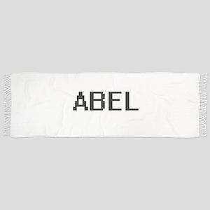 Abel Digital Name Design Scarf