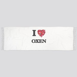 I Love Oxen Scarf
