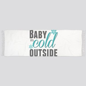 Baby it's Cold Outside Tassel Scarf