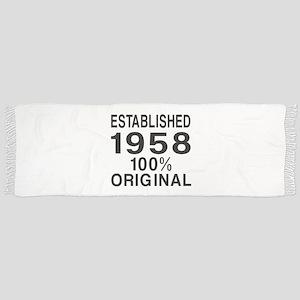Established 1958 Scarf