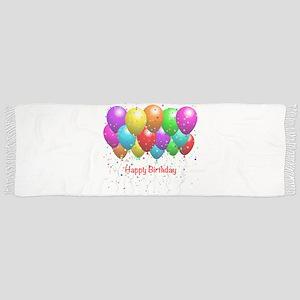 Happy Birthday Balloons Scarf