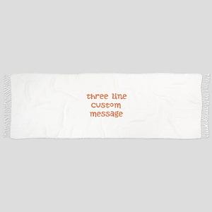 Three Line Custom Design Scarf