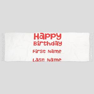 Happy Birthday Scarf