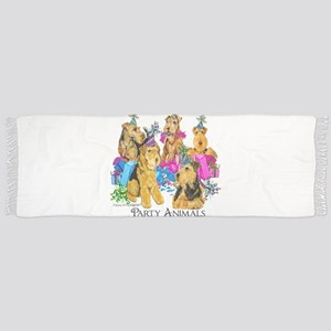 Airedale Terrier Party Scarf
