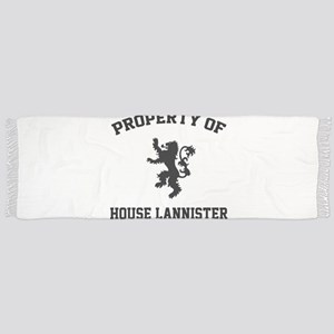 Property of House Lannister Tassel Scarf