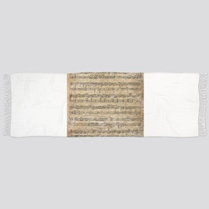 Vintage Sheet Music Scarf