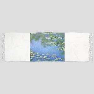 Claude Monet Water Lilies Scarf