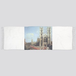 Canaletto Westminster Abbey Scarf