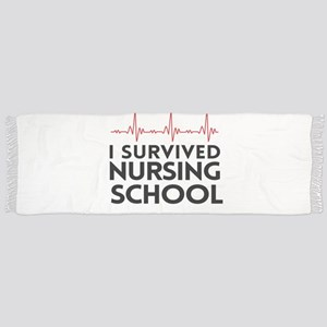 I survived nursing school Scarf