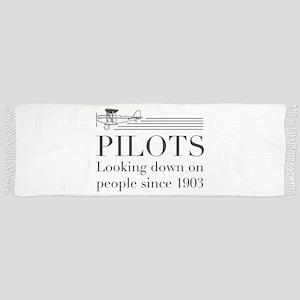 Pilots looking down people Scarf