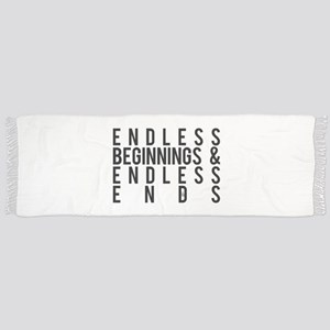 Endless Beginnings and Endless Ends Tassel Scarf