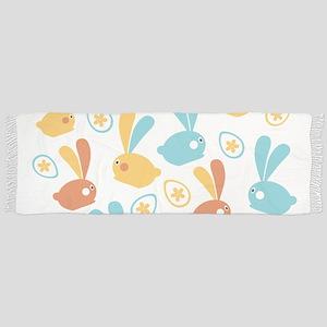Easter Bunnies Modern Twist Pattern Scarf