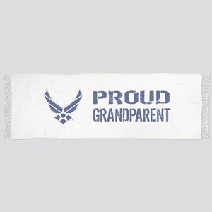 USAF: Proud Grandparent Tassel Scarf