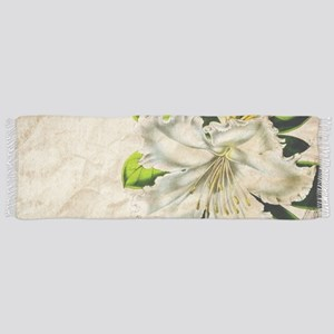 french botanical white lily Scarf