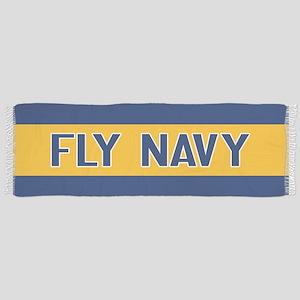 U.S. Navy: Fly Navy (Blue & Gold) Scarf