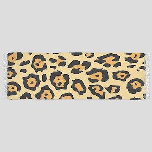 Safari cheetah leopard print Tassel Scarf