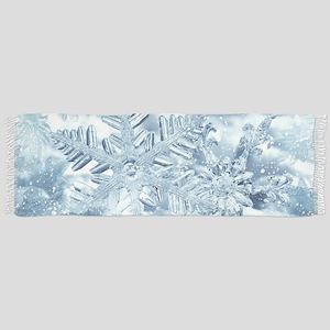 Snowflake Crystals Scarf
